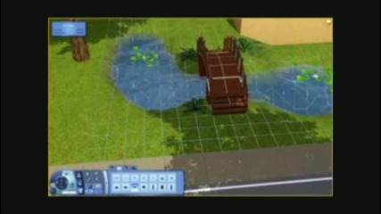 The Sims 3 - Building a House 11 - Tangerine Villa - Part 2 - Architecture