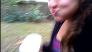 Girl Eating a Habanero Pepper!