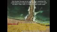 Доказателства за прехода на еврейте през Червено море , описан в Библията
