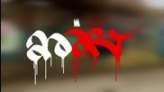 Avart рисува слаб graffiti character