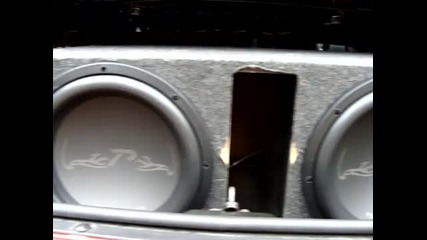 Power Acoustik Pw3 12's - Bass I Love You