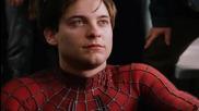 Спайдър - Мен 2 / Гражданите помагат на своя спасител Спайдър - Мен *една от най-добрите сцени* / Бг