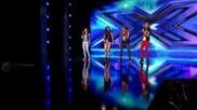 Кристиана, Кристина, Михаела и Славена - X Factor (02.10.2014)