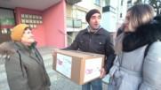 Драго Симеонов и Диа Поднесоха Празничен Пакет на Василка