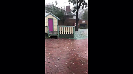 Australia: Hail hits Melbourne amid severe thunderstorms