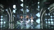 Orange Caramel - Not Yet + Aing ~ Music Core (05.02.11)
