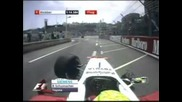 Ralf Schumacher Crash in Monaco