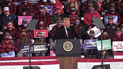 USA: Biden lost debate 'badly' Trump tells Minnesota rally