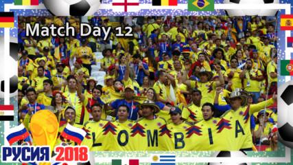 Анализ на ден 12 от Световното по футбол