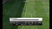 Fifa 12 - Изчистване на топката от самата гол линия