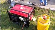 Генератор 6,5kw на газ пропан-бутан 1част / Lpg generator www.storum.eu