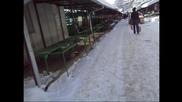 Един зимен ден навън...