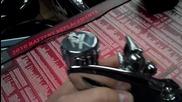 99 - 2011 Suzuki Hayabusa Kanji Chrome Billet Rear Brake reservoir For Sale