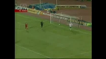 България С Победа Срещу Люксембург
