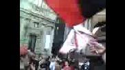 Manifestazione Ultras Curva Sud Milano