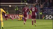 Латвия – Казахстан 0:1
