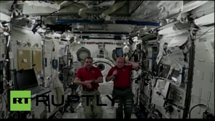Space: ISS crew reminisce on beer and showers during EXCLUSIVE interview
