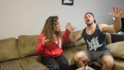 Ghost Pepper Gumball Challenge vs Girlfriend