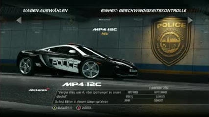 Need For Speed Hot Pursuit 2010 All Cop Cars Hd