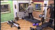 Фитнес тренировка с костюм