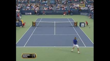 Nadal - Djokovic Cincinnati Sf.part2