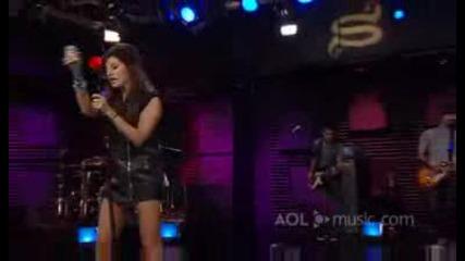 Ashley Tisdale - Masquerade - Live Aol Sessions ( Високо Качество)