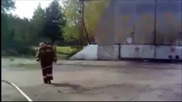 Весела руска пожарна команда!