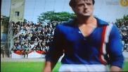 Бягство към Победа / Робърт Хеч спасява топката от гол