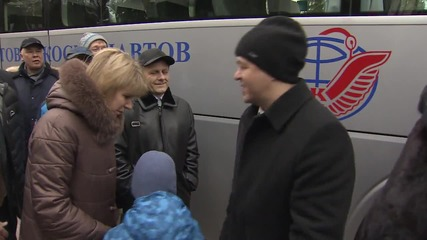 Russia: 47th ISS crew bid farewell to family ahead of space expedition