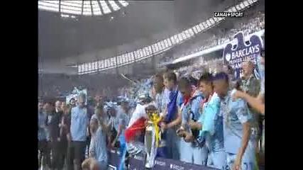 Манчестър Сити е Шампион на Англия !!!