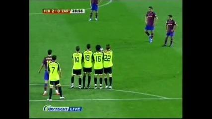 Ибрахимович гол за Барселона Vbox7