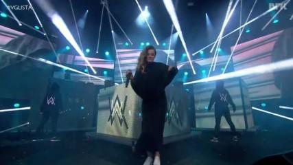 Alan Walker - Sing Me To Sleep / Faded * Live - Осло 2016