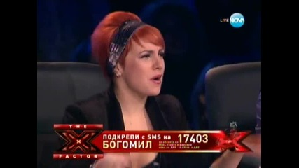 X factor Bogomil Bonev - Mamma Mia (abba) 29.11.2011