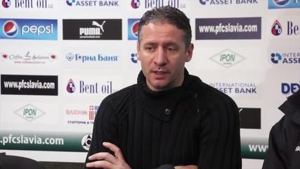 Кушев покани Томислав Русев и Вальо Грънчаров на проби в Славия