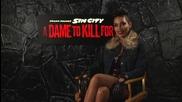 Звездата Росарио Даусън дава интервю за филма си Град на Греха 2: Жена, за която да убиеш (2014)