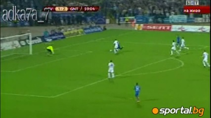 Отново синьо шоу на Герена и историческа победа за Левски , Левски - Гент 3:2