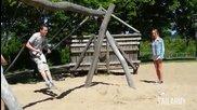Компилация провали на детски площадки // Failarmy 2014