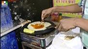 Бърза Храна на улицата в Мумбай - Masala Frankey