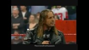 Bret Hart Returns to Wwe 2010 and calls out Shawn Michaels Raw 01.04.10