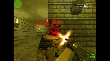 Counter - Strike 1.6 headshoat