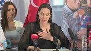Jolie Decries Turkey's 'Explosion of Suffering'