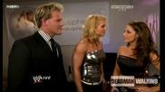 Chris Jericho,  Trish Stratus and Beth Phoenix - Backstage | Raw | 14.9.2009 | High Quality