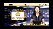 (hii, Crwe, Tiv) Crwenewswire Stocks to Watch