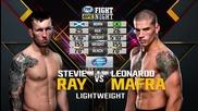 Stevie Ray vs Leonardo Mafra (ufc Fight Night 72, 18.07.2017)