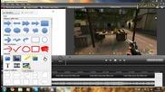Как да си сложим лого на видеоклип с Camtasia Studio 7 [hd 720p]