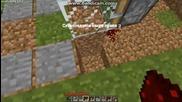 как да си направим пистон врата на Minecraft