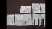 Необичайна колекция от коледни картички представят в шуменското село Имренчево