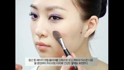 Leehyoree_vintage Purple Make up