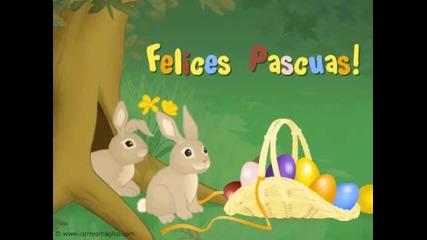 Tarjeta animada de Pascuas
