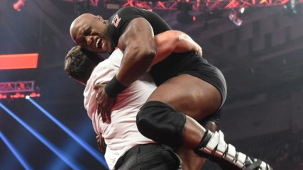 After divorcing Lana, Rusev slams Lashley through a table: Raw, Dec. 19, 2019